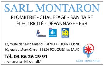 Logo SARL Montaron