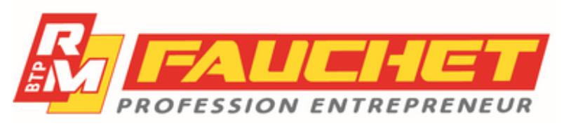 Logo entreprise Fauchet